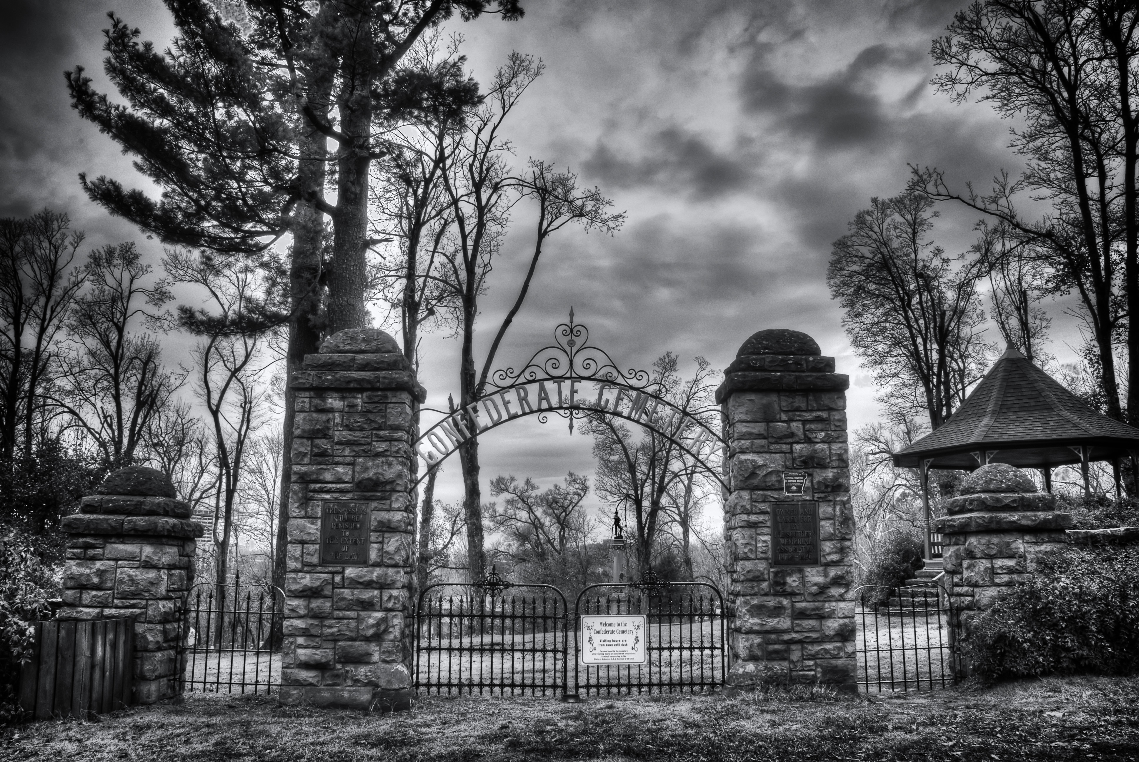Gallery For &gt Cemetery Gates