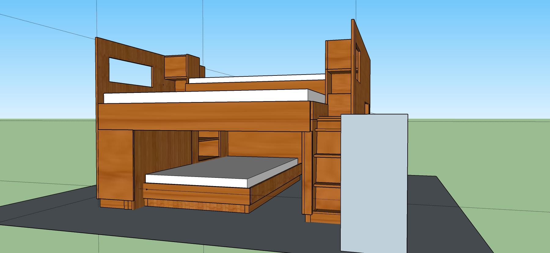 Marvelous Overly Elaborate Bunk Beds